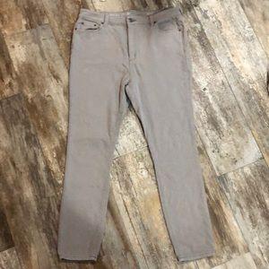 Vineyard Vines | Gray Skinny Jeans size 14